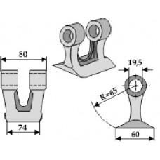 Plaktukinis peilis A0651/RM-19