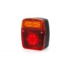Galinis LED žibintas W-18UD 12V-24V